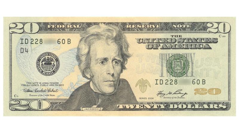20 Dollar Bill Featured