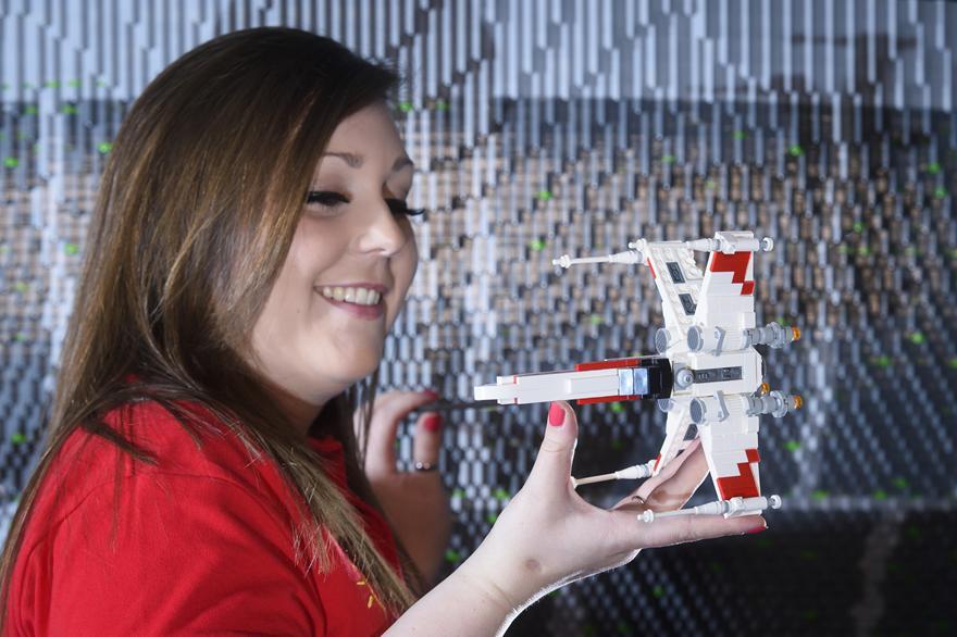 13 One Of The Worlds Biggest Ever LEGO Star Wars Models Installed At The LEGOLAND Windsor Resort