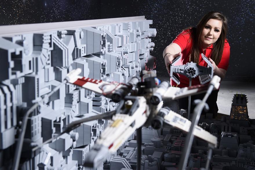 2 One Of The Worlds Biggest Ever LEGO Star Wars Models Installed At The LEGOLAND Windsor Resort