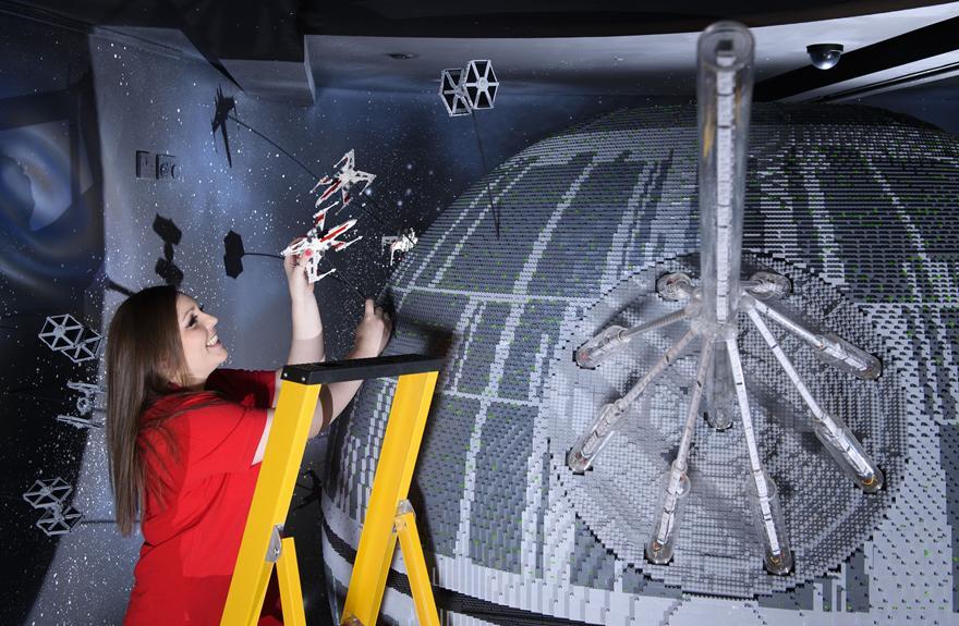4 One Of The Worlds Biggest Ever LEGO Star Wars Models Installed At The LEGOLAND Windsor Resort