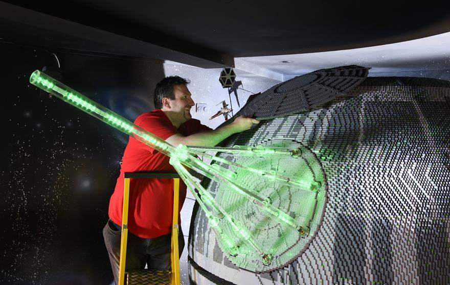 8 One Of The Worlds Biggest Ever LEGO Star Wars Models Installed At The LEGOLAND Windsor Resort