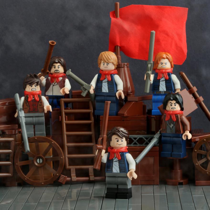 LEGO Les Miserables Central Zoom1