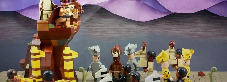 LEGO The Lion King Spotlight Simba