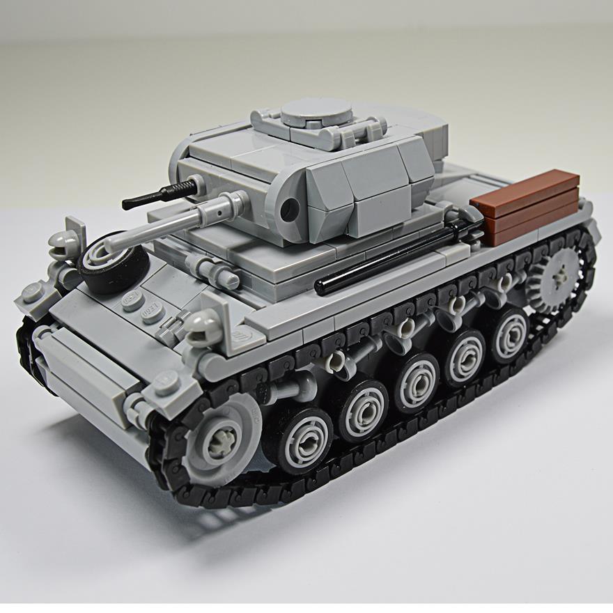 Panzer II United Bricks
