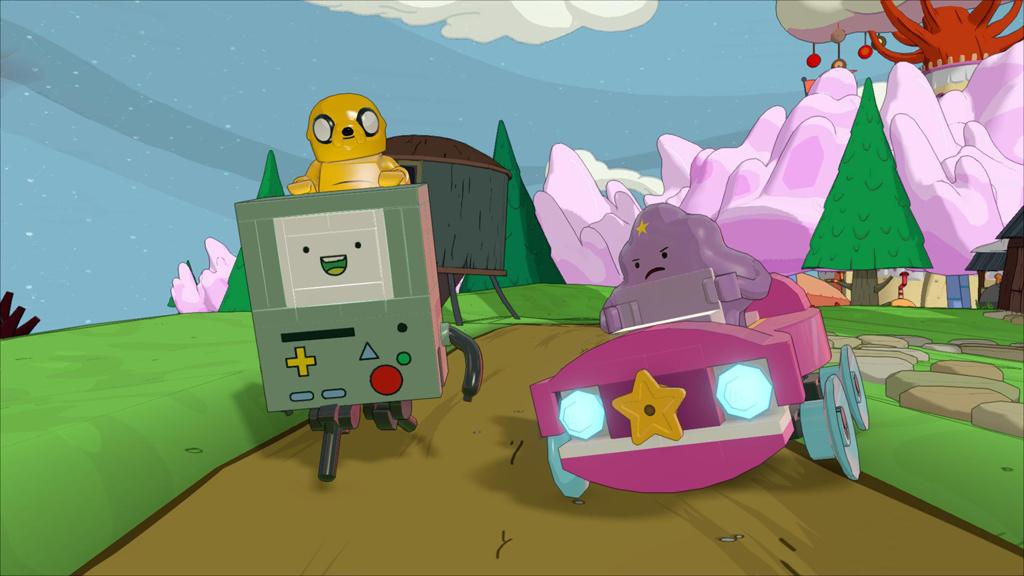 Adventure Time Jake LSP BMO Lumpy Car Bmp Jpgcopy