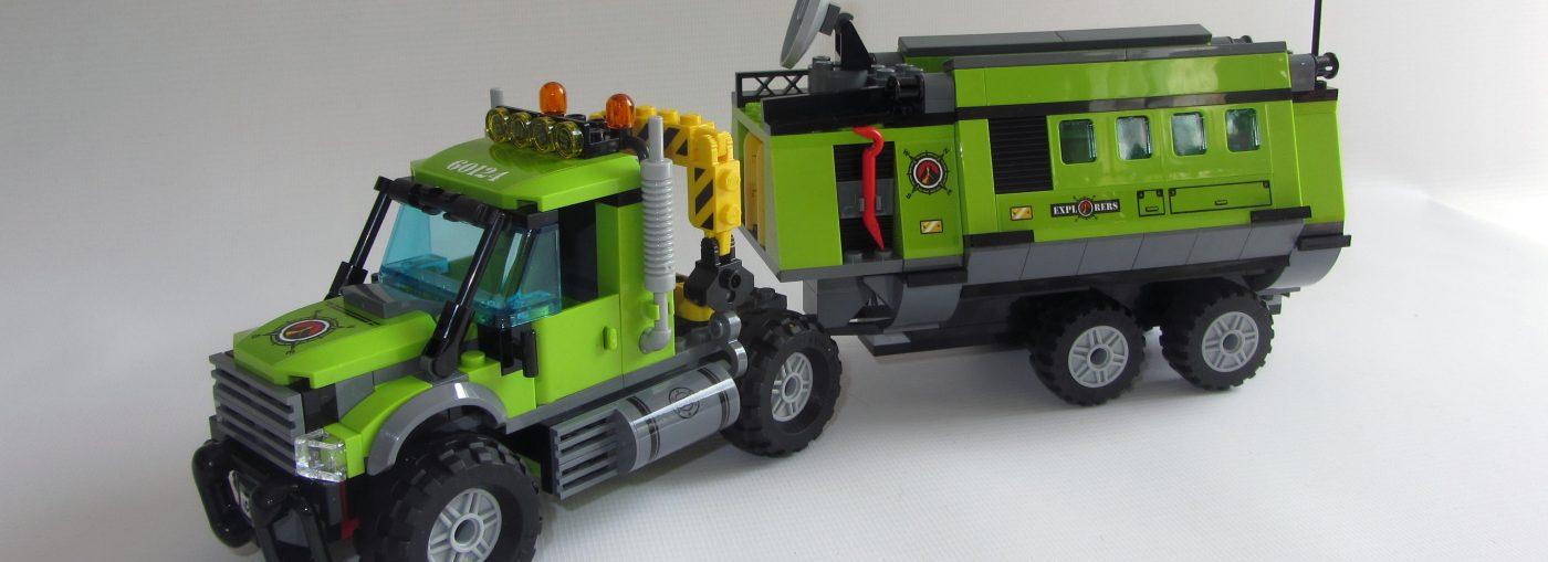 Volcano Exploration Base Building Toy