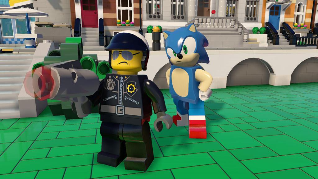 SEGA Sonic   Bad Cop Bmp Jpgcopy