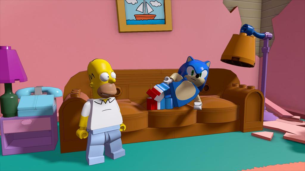 SEGA Sonic   Homer Bmp Jpgcopy