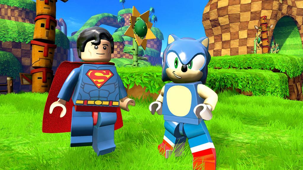 SEGA Sonic   Superman Bmp Jpgcopy