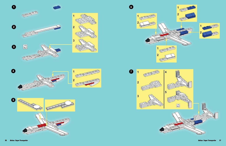 TinyLEGOWonders Plane