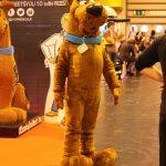 A terrifying, giant Scooby Doo mascot.