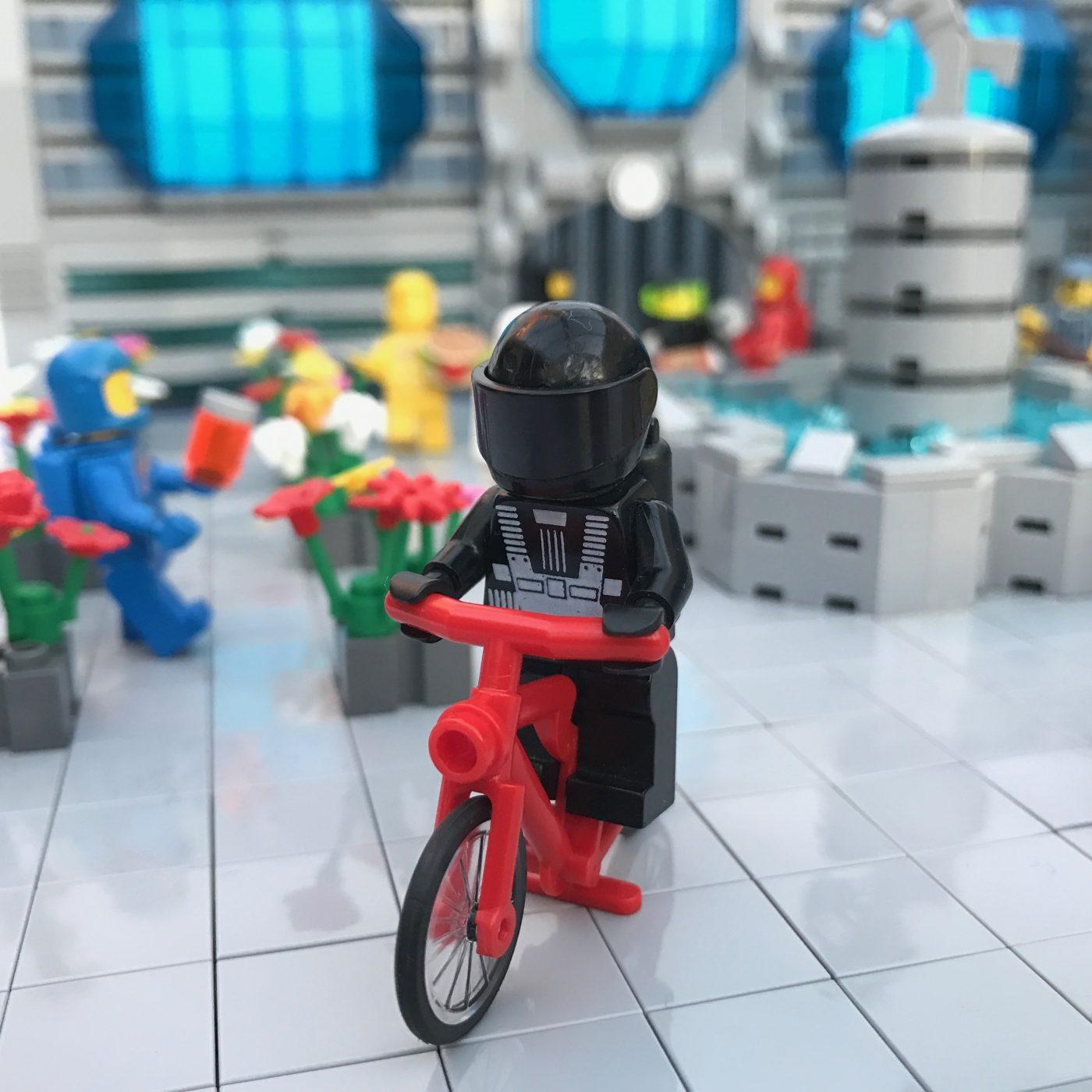 Detail Cyclist