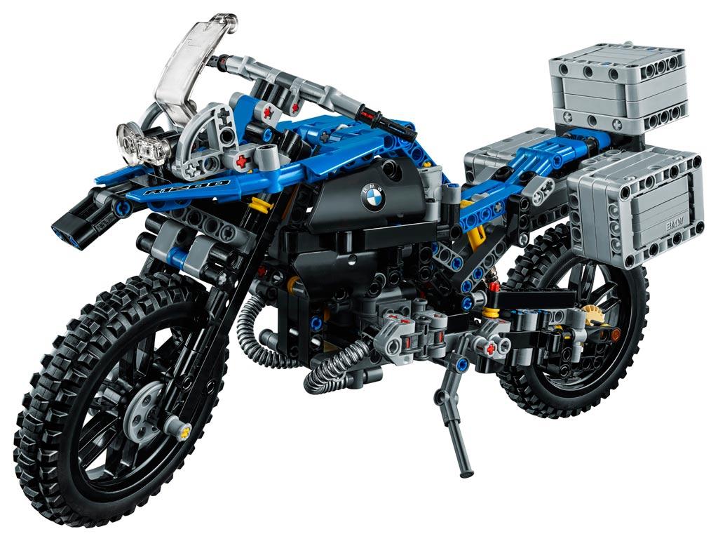 Lego Technic Bmw R 1200gs Adventure 42063 Logo