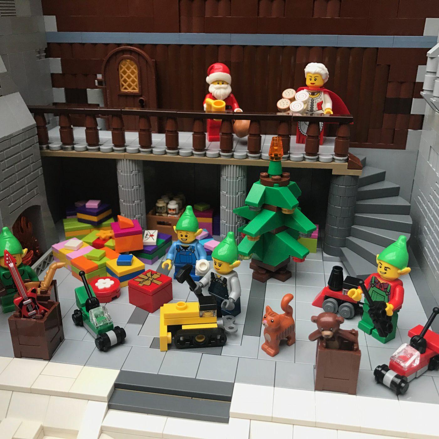 Santas Workshop Inside Square
