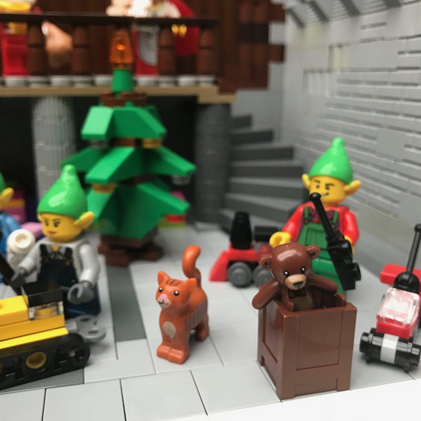 Santas Workshop Teddy