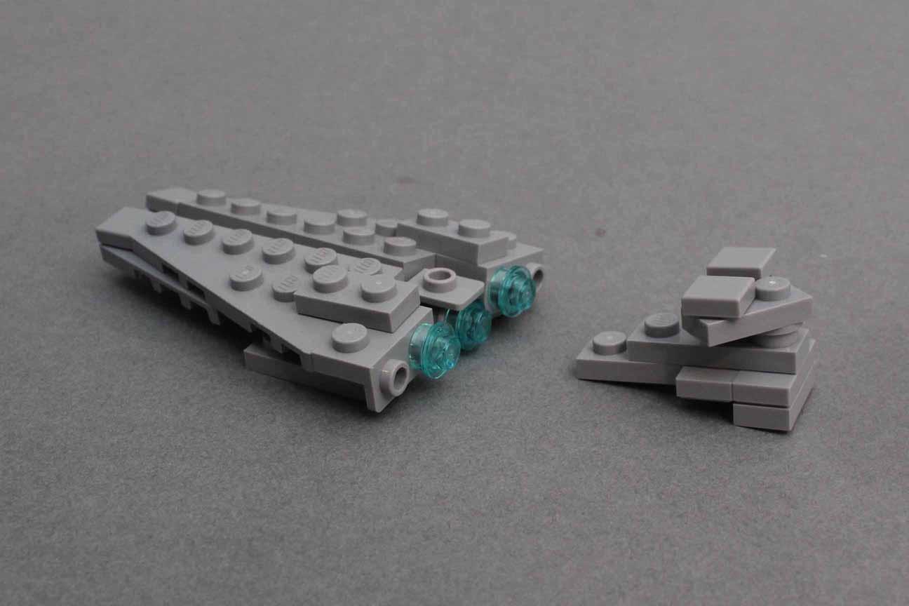Star Destroyer Step 11