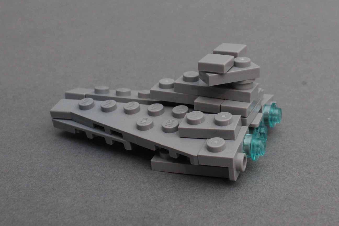 Star Destroyer Step 12