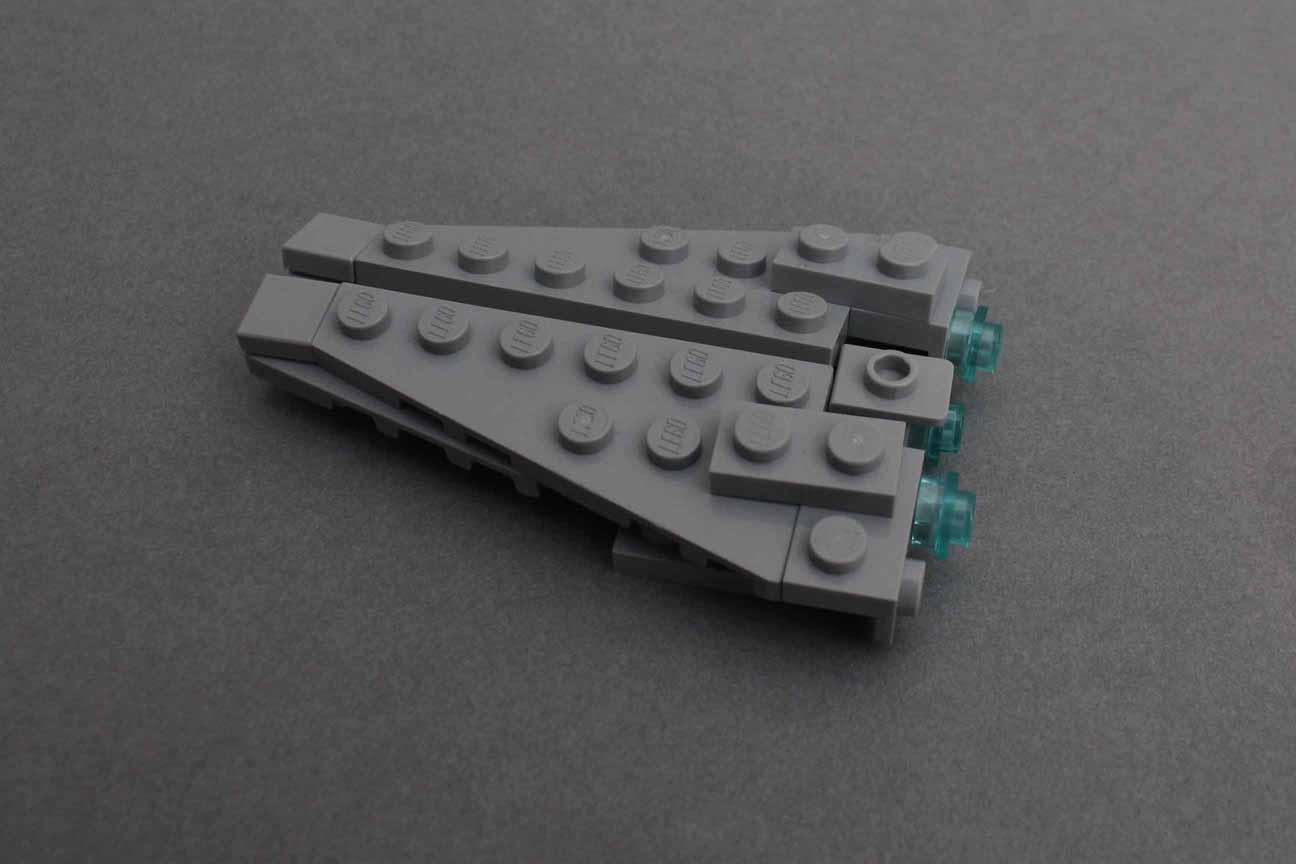 Star Destroyer Step 8