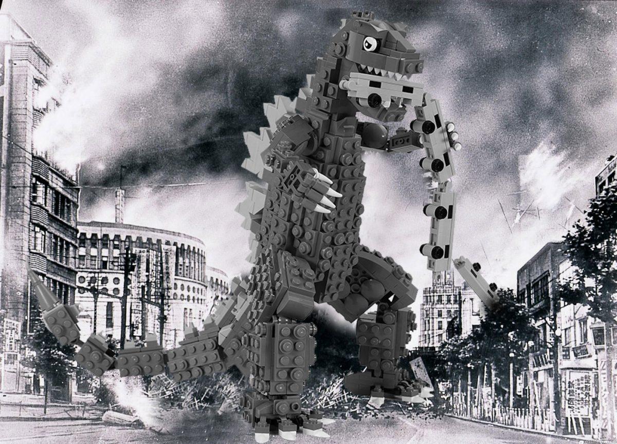 Brick Pic Godzilla