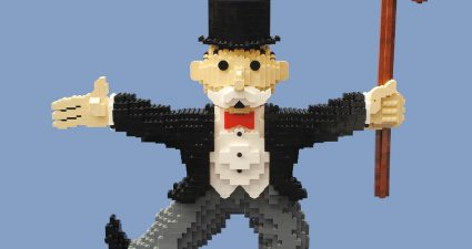 LEGO Monopoly Man