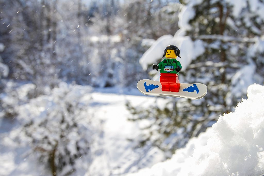 LEGO Snowboarding
