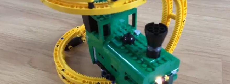 LEGO Banana Train Featured
