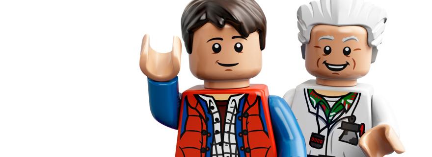 LEGO BttF Featured