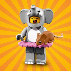 LEGO Elephant Girl 300x300