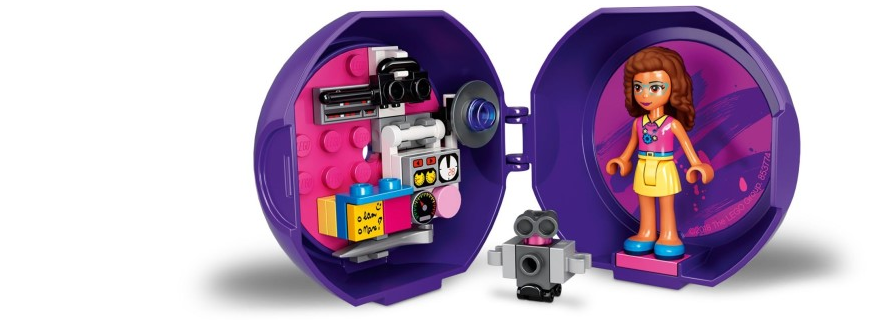 LEGO Friends 853774 Olivia Pod Featured