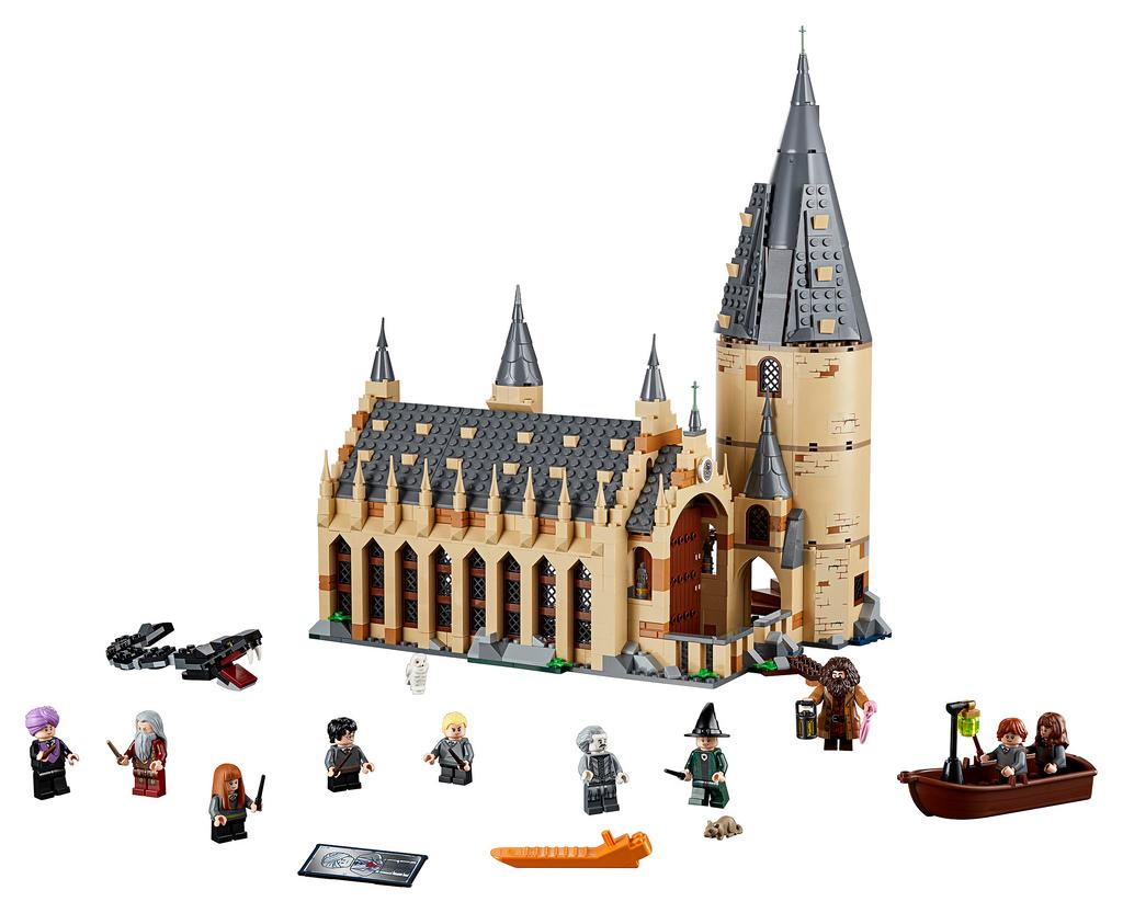 LEGO Harry Potter 75904 Hogwarts Great Hall 1