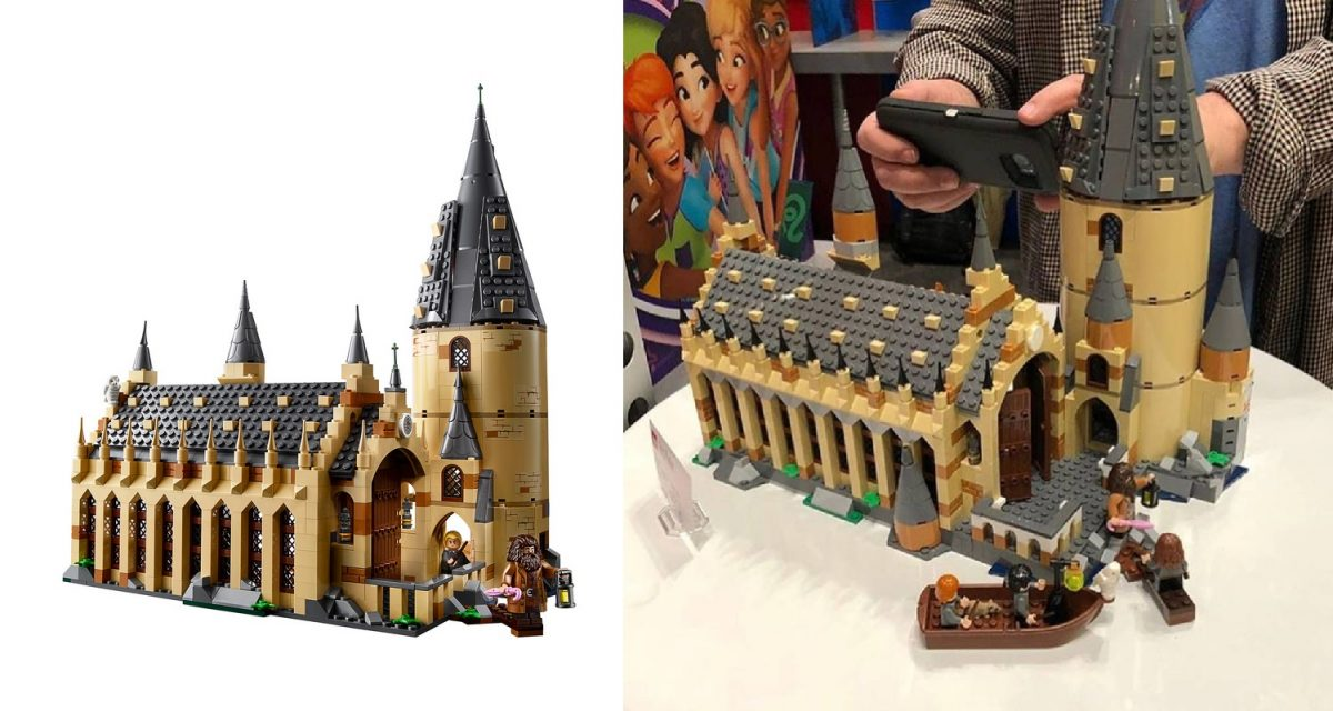 LEGO Harry Potter 75904 Hogwarts Great Hall Spot The Difference