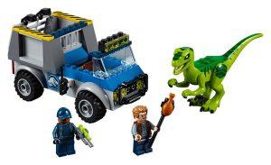 LEGO Jurassic World 10757 Raptor Rescue Truck 300x183