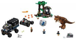 LEGO Jurassic World 75929 Carnotaurus Gyrosphere Escape 300x155