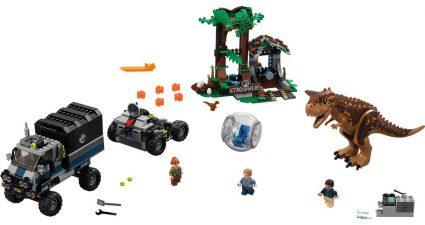 LEGO_Jurassic_World_75929_Carnotaurus_Gyrosphere_Escape
