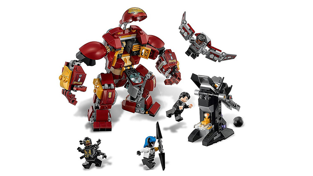 LEGO Marvel Super Heroes 76104 The Hulkbuster Smash Up 3