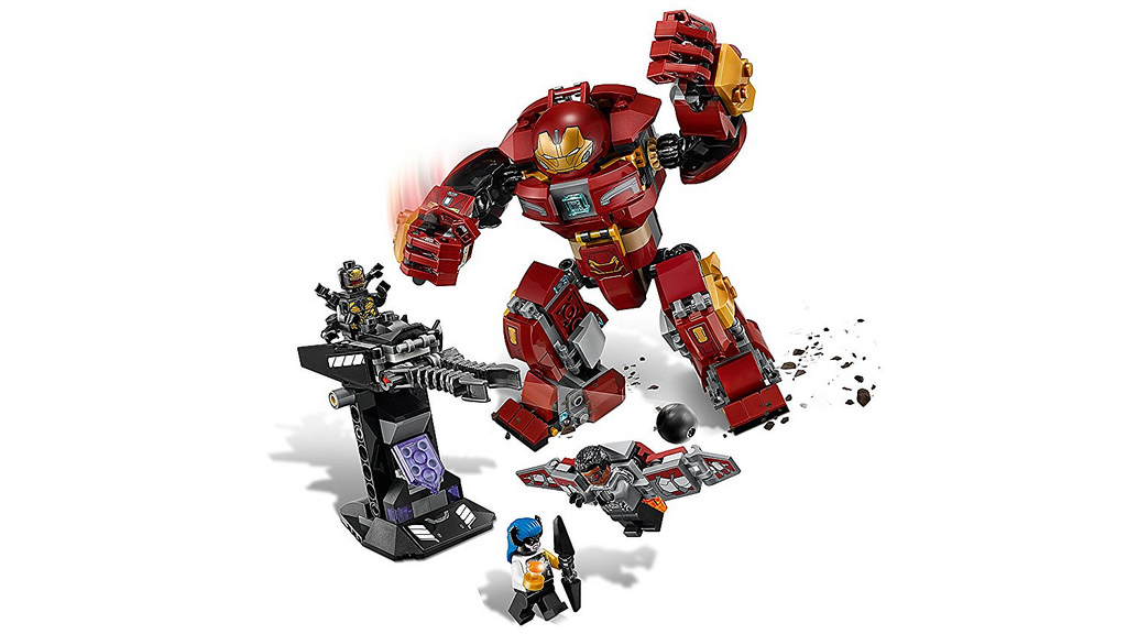 LEGO Marvel Super Heroes 76104 The Hulkbuster Smash Up 5