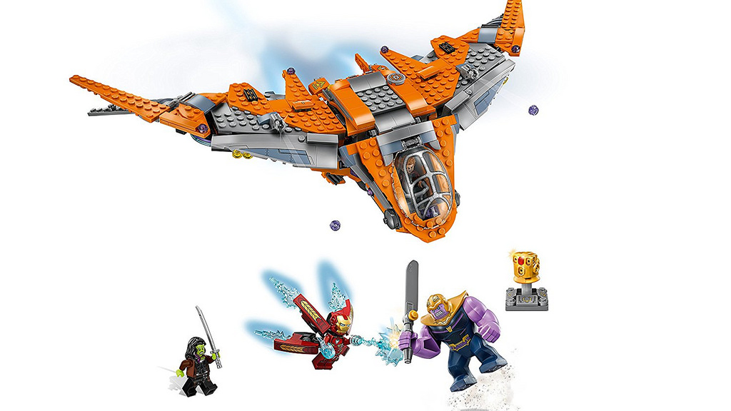 LEGO Marvel Super Heroes 76107 Thanos Ultimate Battle 4