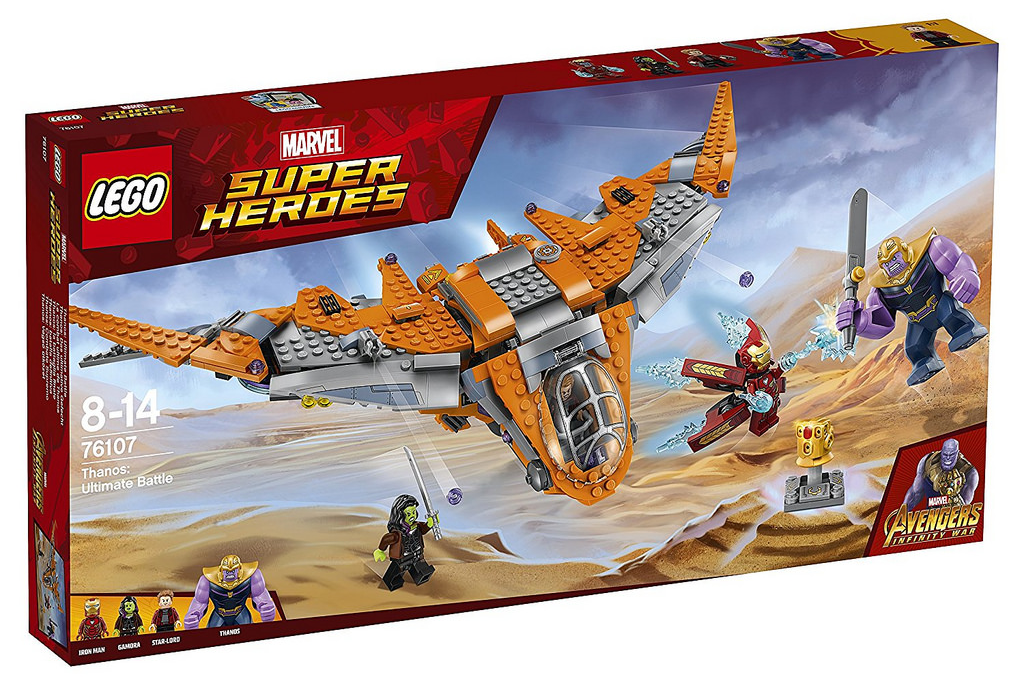 LEGO Marvel Super Heroes 76107 Thanos Ultimate Battle Cropped