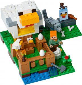LEGO Minecraft 21140 The Chicken Coop