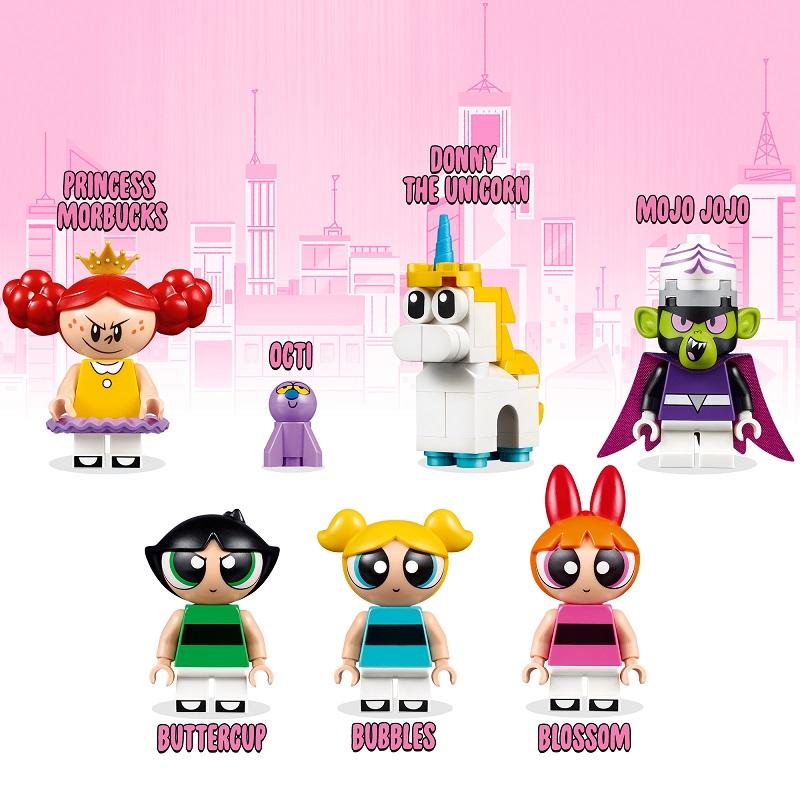 LEGO Powerpuff Girls characters