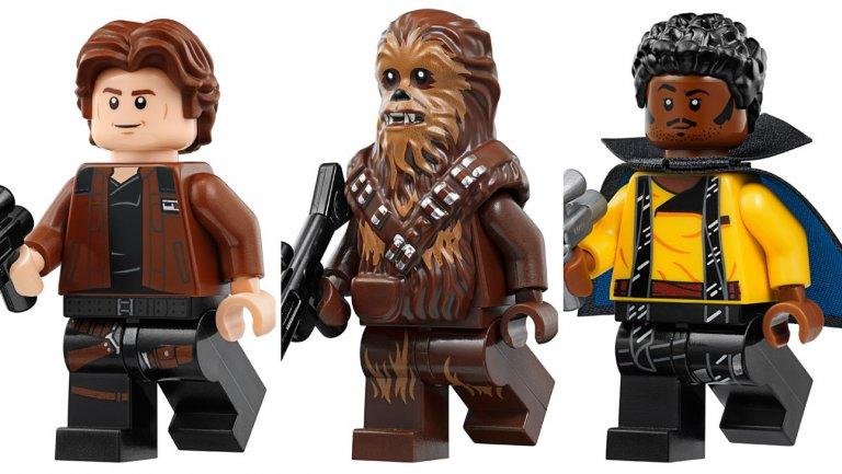 LEGO Star Wars Solo 75212 Kessel Run Millennium Falcon Lando Calrissian