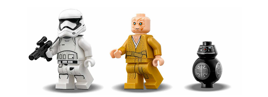 LEGO Star Wars TLJ Minifigures Featured