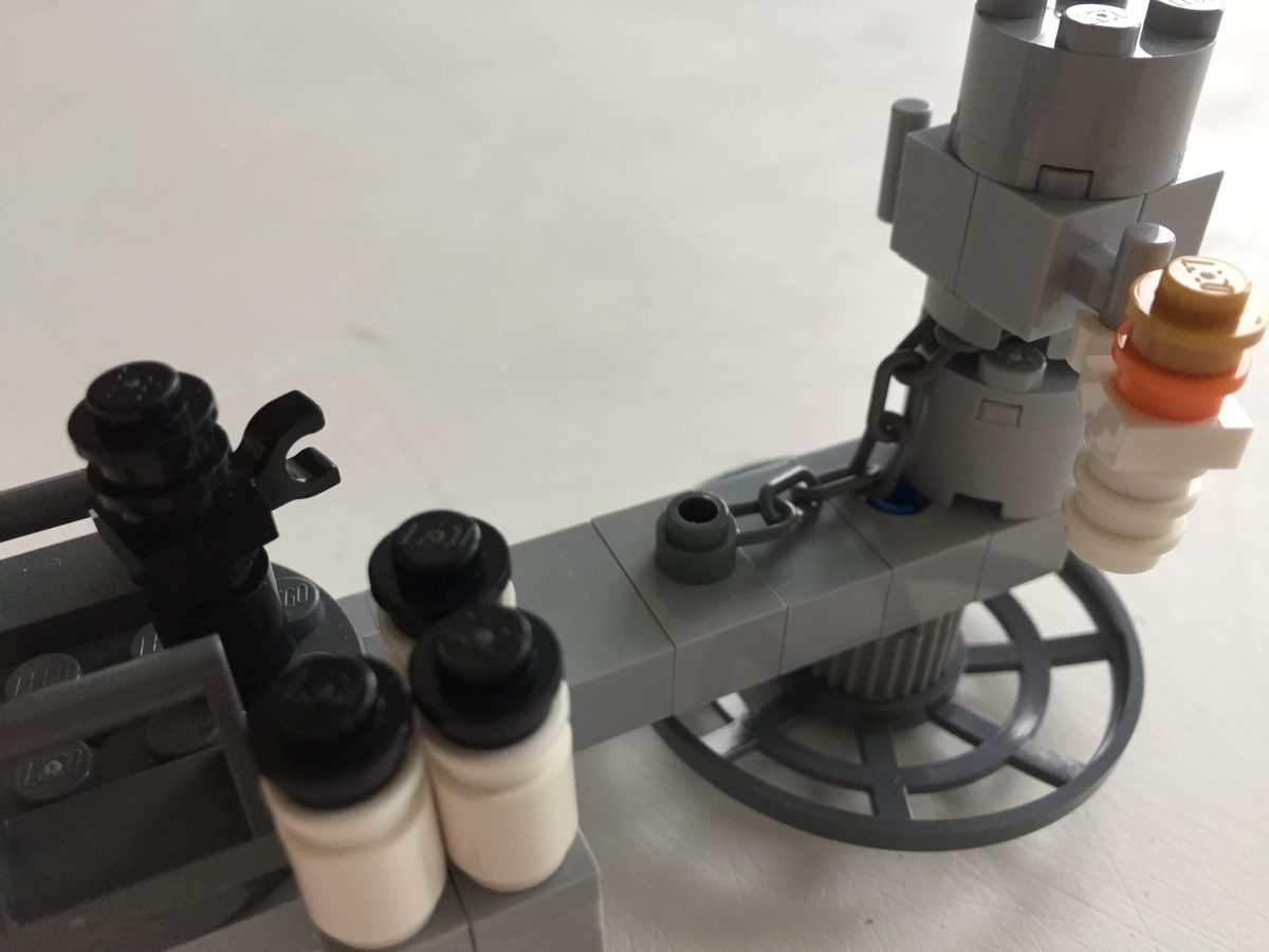 LEGO Star Wars Micro Cloud City 5