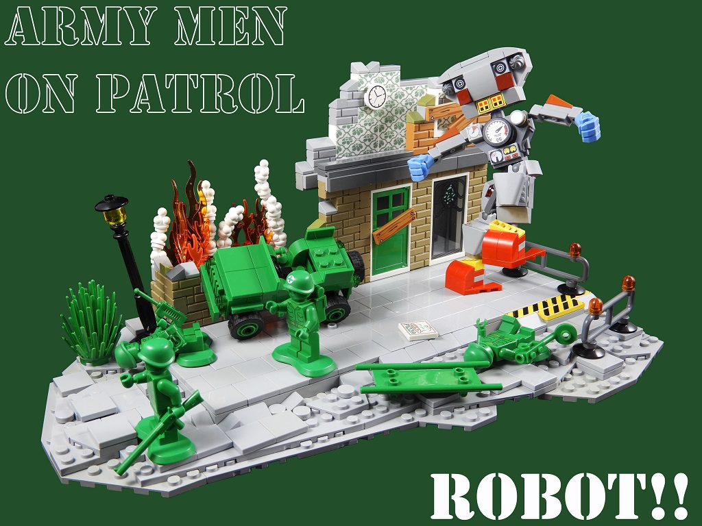 Army_Men_On_Patrol_Robot