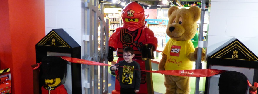 Hamleys LEGO Opening Featured