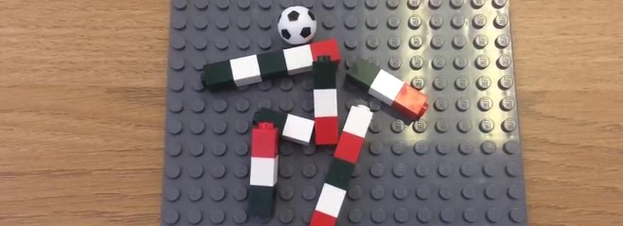 Italia 90 logo in LEGO featured