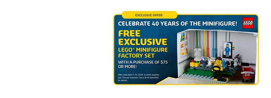 LEGO 5005358 Minifigure Factory 2