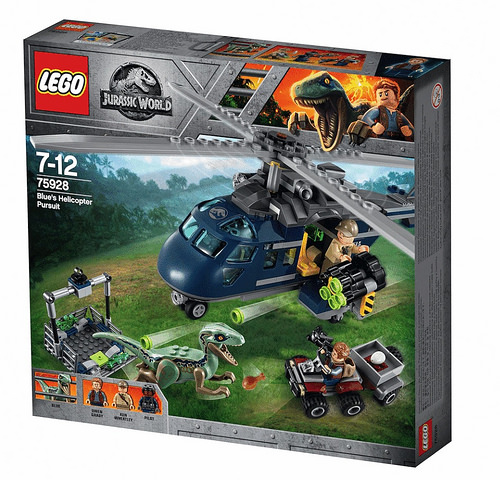 LEGO 75928 Blues Helicopter Pirsuit