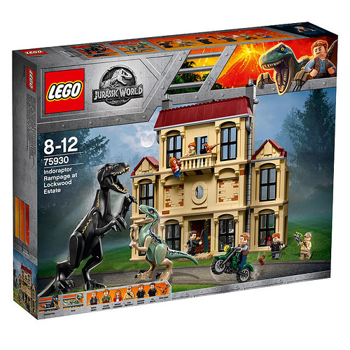 LEGO 75930 Indoraptor Rampage Box