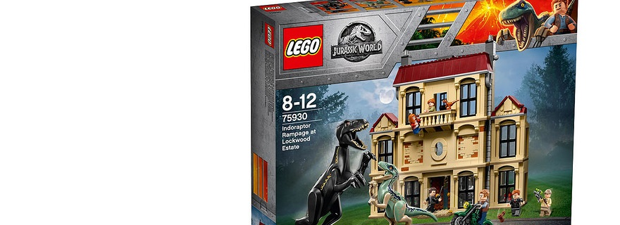 LEGO 75930 Indoraptor Rampage Box Featured